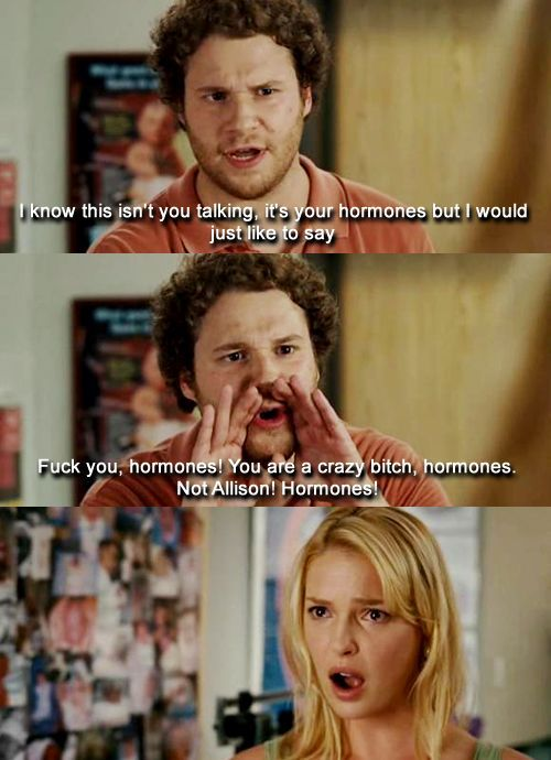 Check out 7 totally crazy facts about actor Seth Rogen. By the way, this a scene from the movie Knocked Up, one of his best roles. #movies