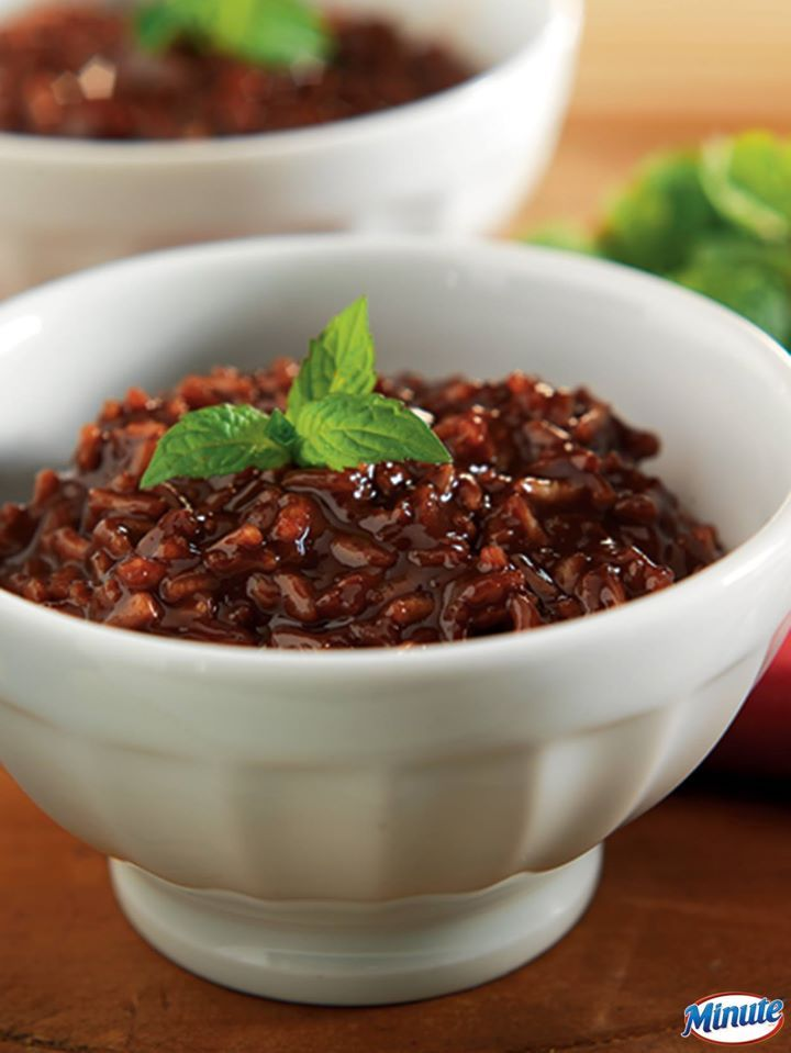 ... your chocolate craving with this Warm Chocolate Risotto #recipe