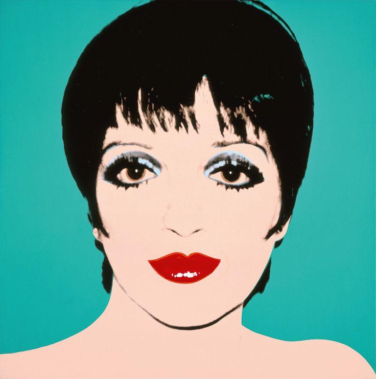 """Andy Warhol """"Liza Minnelli"""", 1979"""