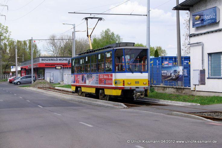 909 Szeged Vadaspark 20.04.2012 - (ČKD) Tatra T6A2