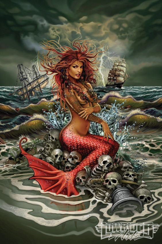 Rick Rietveld Featured Artist Mermaid Art 04: