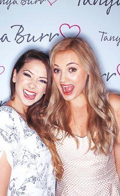 Zoe & Niomi at Tanya's beauty launch <3