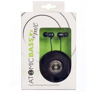 Radius Atomic Bass 2 Earbuds with Mic Best Earbuds For Small Ears Reviews