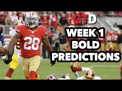 NFL Week 1 Bold Predictions | Rage of The Day
