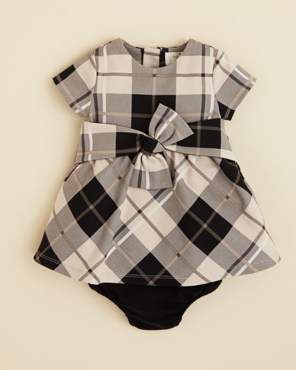 Kate Spade new york Infant Girls' Plaid Dress & Bloomers Set - Sizes 6-24 Months