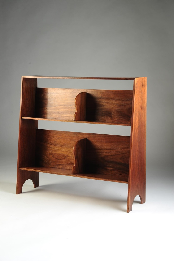 Bookcases, designed by Josef Frank for Svenskt Tenn, Sweden. 1950s.