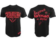 Donald Cowboy Cerrone Anyone Anytime Anyplace Shirt