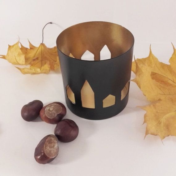 can candle holder house /scandi/vintage/ loft/art deco/ industrial/gotic/ boho/ shabby shic/ retro/ oldschool/ steel/ iron/ wall/ cottage