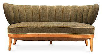 "OTTO SCHULZ, soffa, ""Schulz"", Jio Möbler, Jönköping 1940-50-tal."
