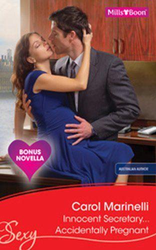 Mills & Boon : Innocent Secretary...Accidentally Pregnant eBook: Carol Marinelli: Amazon.com.au: Kindle Store