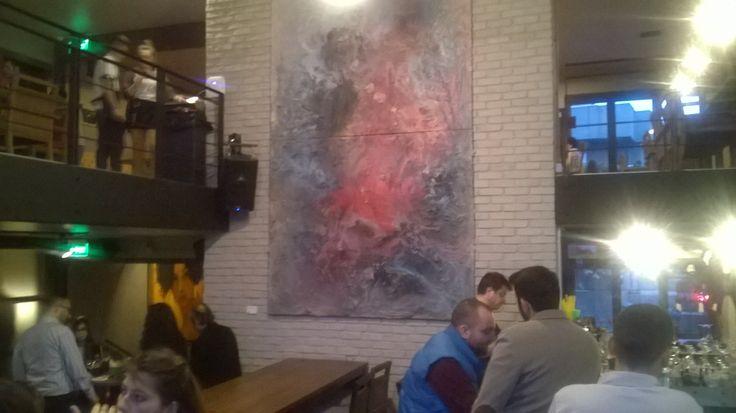 Maya Art Project bünyesinde yer alan genç sanatçıların eserlerini Ankara nın ilk ve tek Art restoranı Gaga da görebilirsiniz.