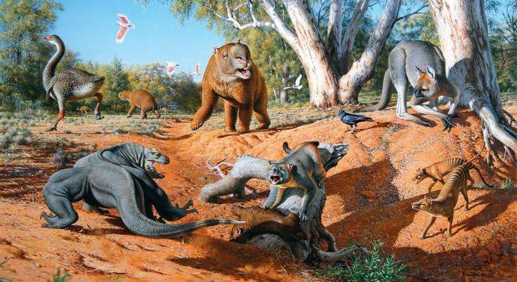 Climate change, not human activity, led to megafauna extinction | 4thenature'sake