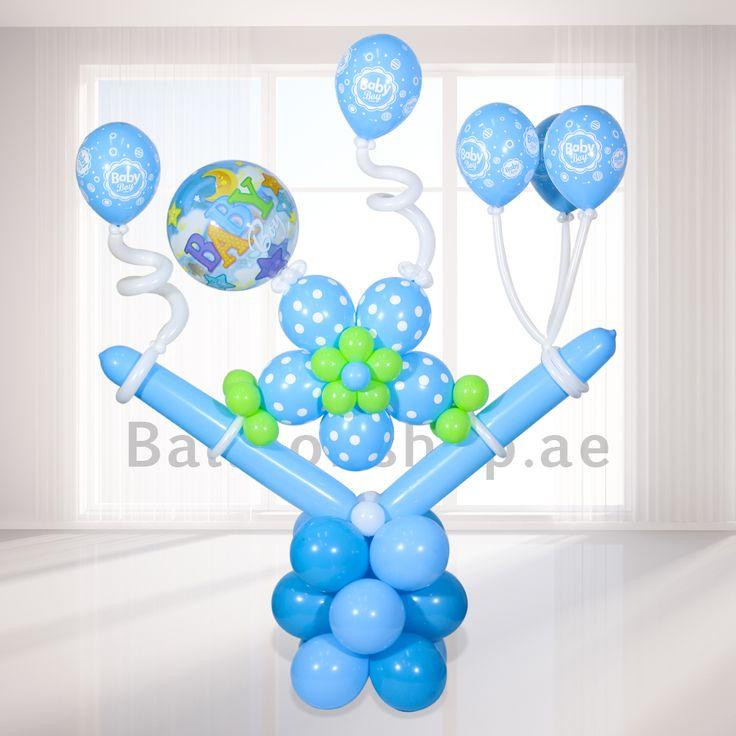 Balloonshop.ae - Baby Boy Balloons