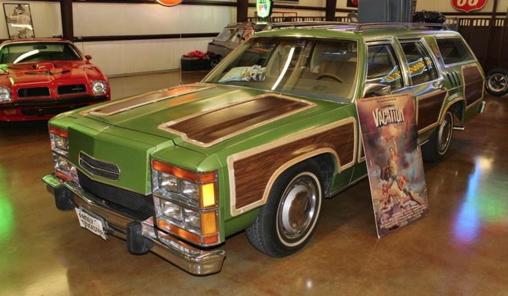 """""""Vacation"""" Station Waggon Ford ltd, National lampoons"""