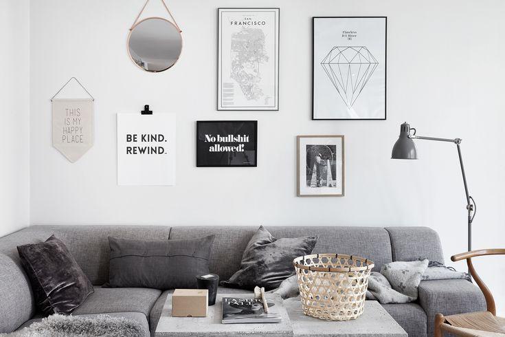 Perfectly styled by Josefin Hååg, Fantastic Frank, scandinavian interior, via http://www.scandinavianlovesong.com/