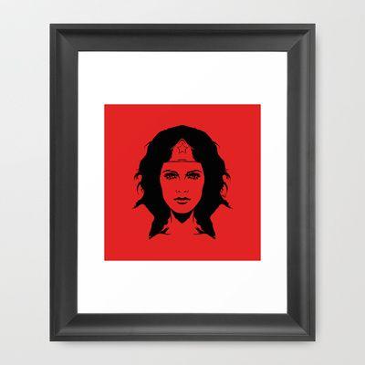 wondering revoluion by Vee Ladwa , Lynda Carter, Che Guevara, Wonderwoman