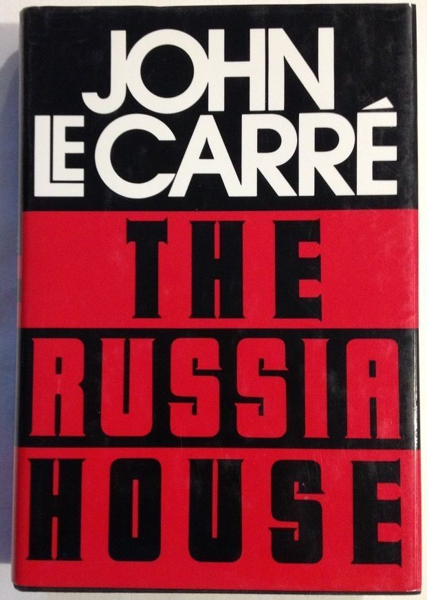 The Russia House by John Le Carré and David Cornwell (1989, Hardcover) BOMC