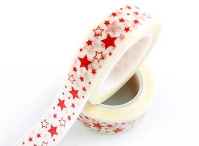star washi tape,full star washi tape. e-mail: sale8@packingtape.cn