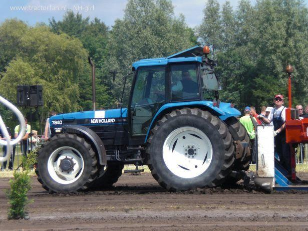 Maintenance Ford New Holland 7840 8240 8340 Tractor Workshop