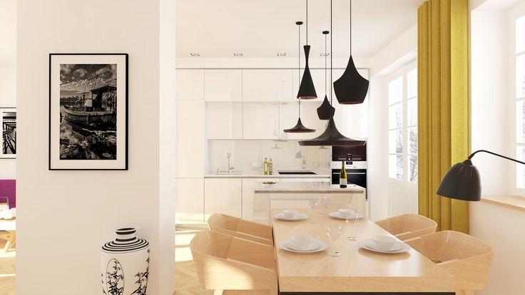 design kitchen and dining room   kuchyň a jídelna