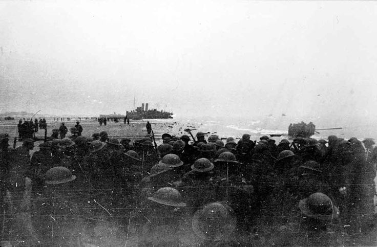 MAY  29 1940 Dunkirk evacuation underway – HMS Grafton sunk - See more at: http://ww2today.com/Men of the 2nd Royal Ulster Rifles awaiting evacuation at Bray Dunes, near Dunkirk, 1940.