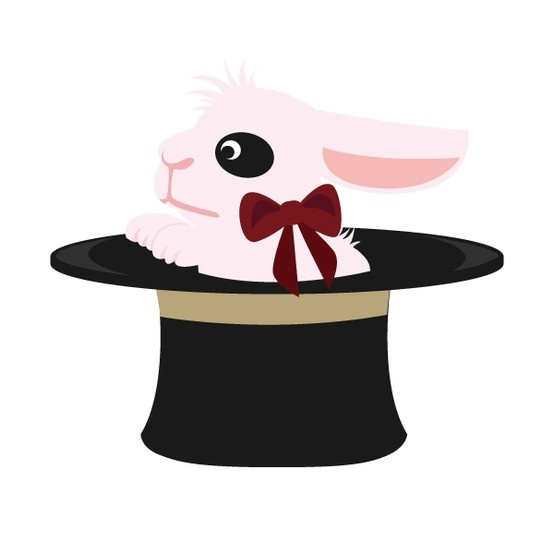 マジックうさぎ君(Magic rabbit)
