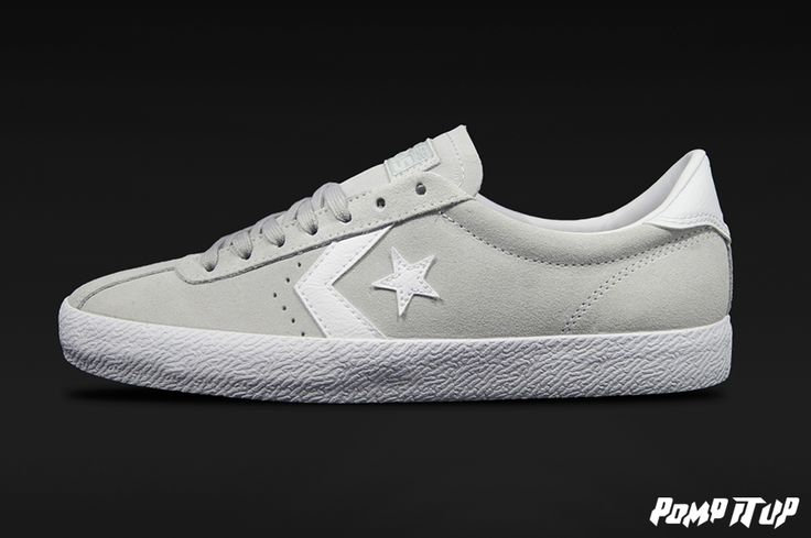 Converse Breakpoint OX M (Mouse/White) For Men Sizes: from 40 to 46 EUR Price: CHF 119.- #Converse #BreakpointOXM #ConverseBreakpoint #Sneakers #SneakersAddict #PompItUp #PompItUpShop #PompItUpCommunity #Switzerland