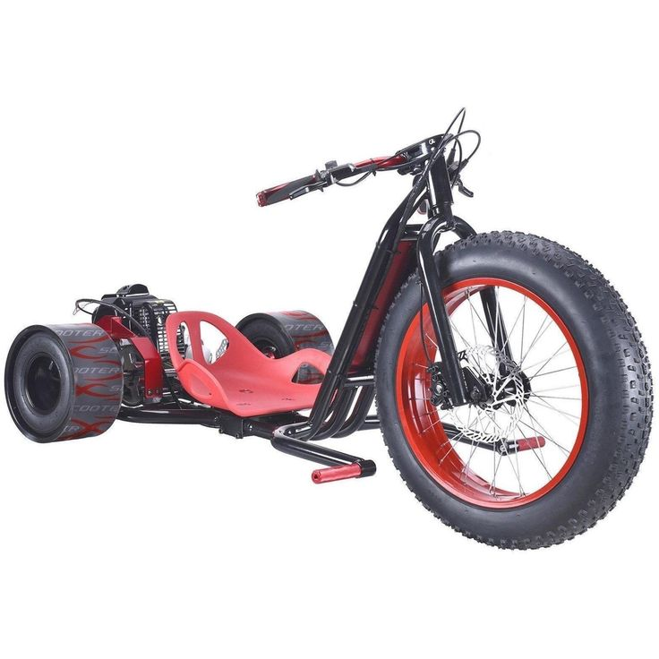 9 best electric bykes images on pinterest electric bicycle scooterx drift master 49cc 25hp 3 wheel mini gas powered trike fandeluxe Images