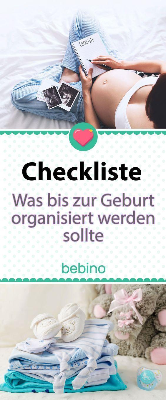 Checkliste Schwangerschaft – Alle To-Dos bis zur Geburt