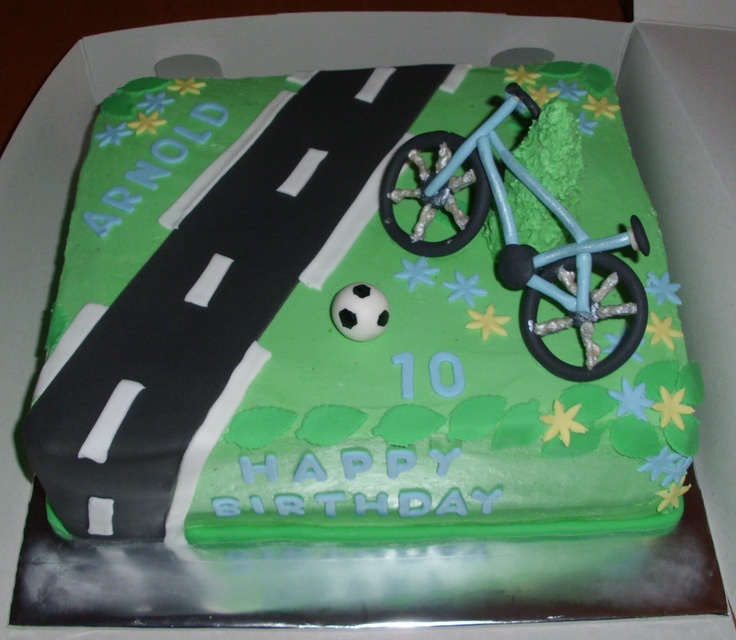 Cake Design Bike : 1000+ images about Cake (Bicycle) Examples on Pinterest ...