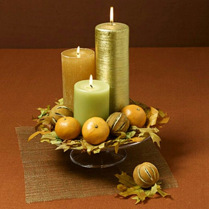 Candle Room Decoration