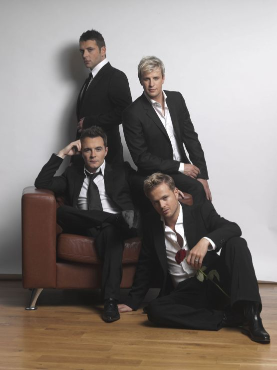 Nicky Byrne, Kian Egan, Mark Feehily and Shane Filan of Westlife