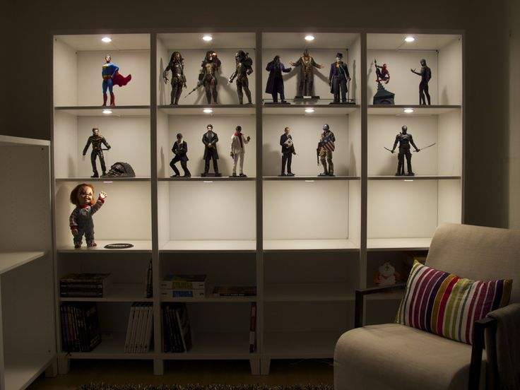 13 best images about action figure storage on pinterest for Hot toys display case ikea