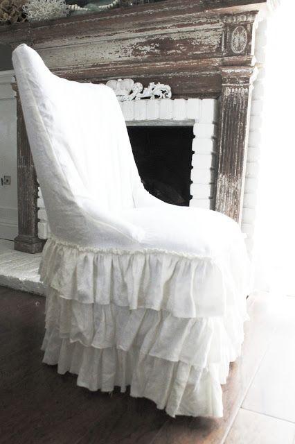 Full Bloom Cottage. Cottage DesignCottage StyleSofa SlipcoversRomantic ...
