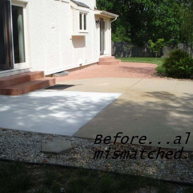 paintings-concrete-patio Images - Frompo - 1
