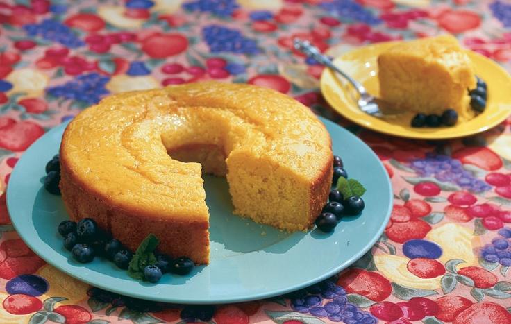 Melon Cake with Citrus Glaze   Sweet Treats   Pinterest
