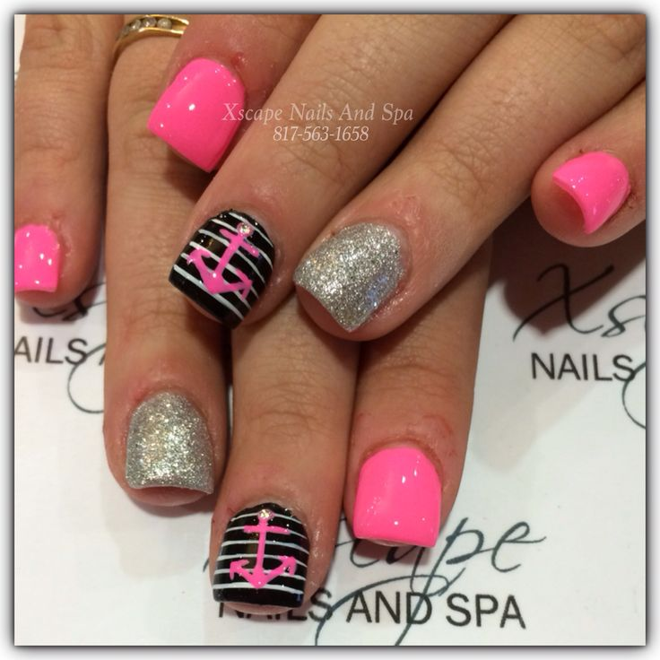 Anchor Nail Designs - 222 Best Nail Ideas <3 Images On Pinterest Anchor Nail Designs