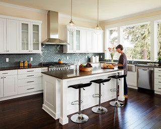 Furnace Townhouse - transitional - kitchen - portland - by Jenni Leasia Design