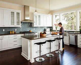 Furnace Townhouse - transitional - kitchen - portland - by Jenni Leasia Design
