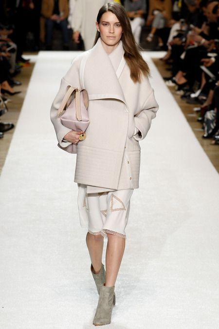Clare Waight Keller for Chloe AW2014 Paris Fashion week ready to wear collection
