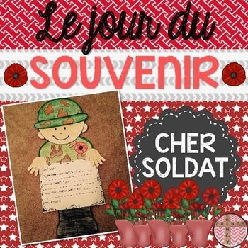 This product includes a great activity in French OR English for Remembrance Day. The CRAFTIVITY includes three different writing options for various levels of French and all of the black-line masters/templates required to build your soldier. The file now includes an English version of the templates.