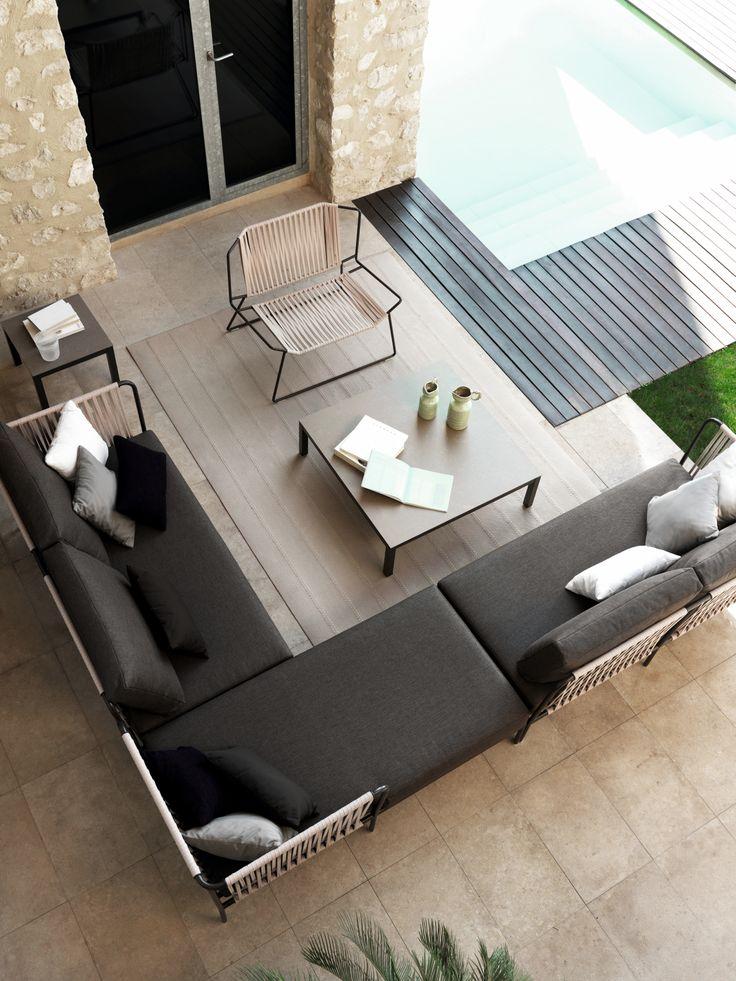 Nido Handwoven Sofa By Javier Pastor. Modular Composition.