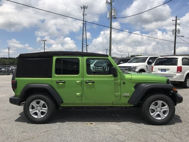 2018 Jeep Wrangler Unlimited Sport S 4x4 Jeep Wrangler Unlimited