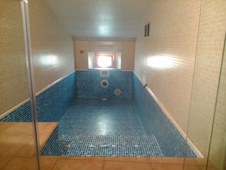 #Reparación de #piscina con #liner en habitación de casa rural situada en #Girona