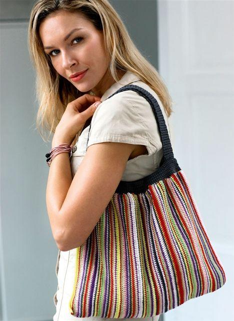 Hækl selv: Taske i glade farver - Hendes Verden