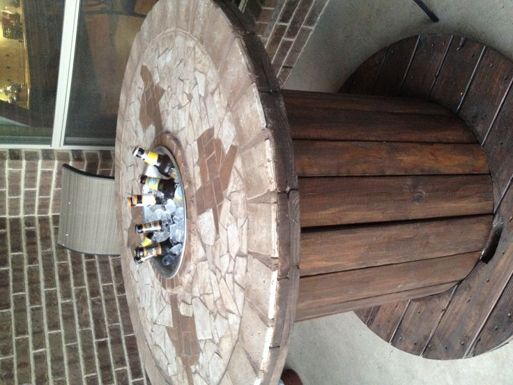 Texas outdoor mosaic bar table Bar table, Mosaic, Outdoor