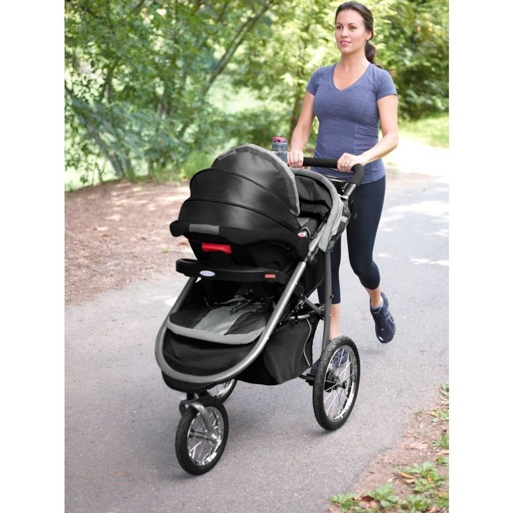 Amazon.com : Graco Fastaction Fold Jogger Click Connect Stroller, Gotham : Baby http://amzn.to/2ss3PBi