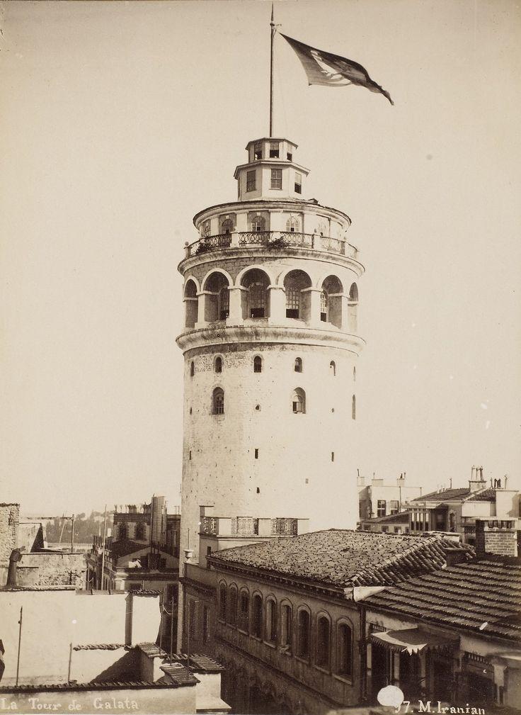 Galata Kulesi M.Iranian Fotoğrafı