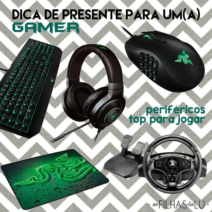 Presente para Gamer - Viciado em game - Video game - Dia dos namorados - Itens da Razer - Mouse naga - Razer