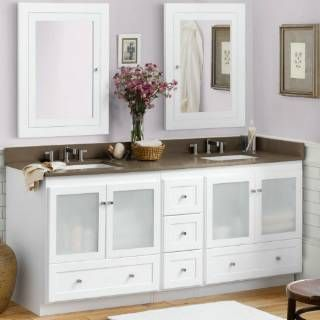17 best images about bathroom accessories on pinterest - Bathroom vanity with frosted glass doors ...